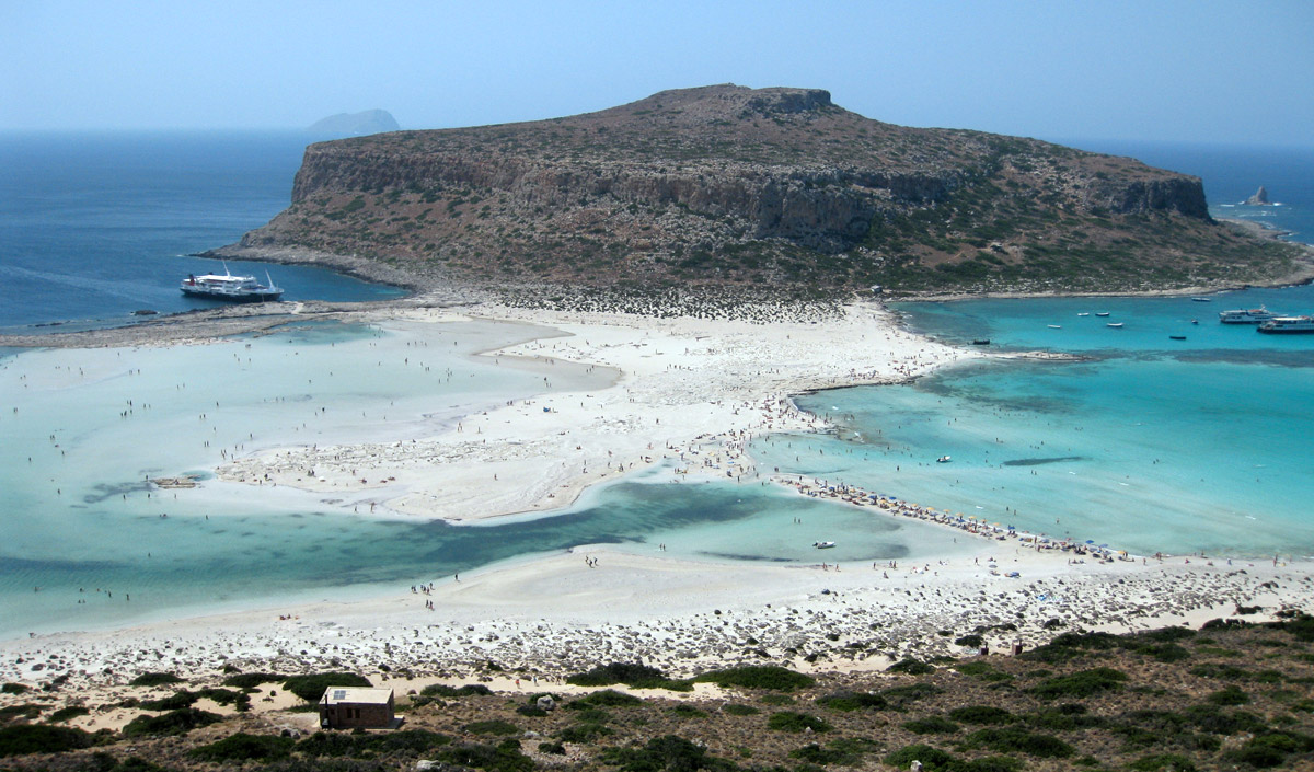 Balos beach lagoon, this is a must in west of Crete