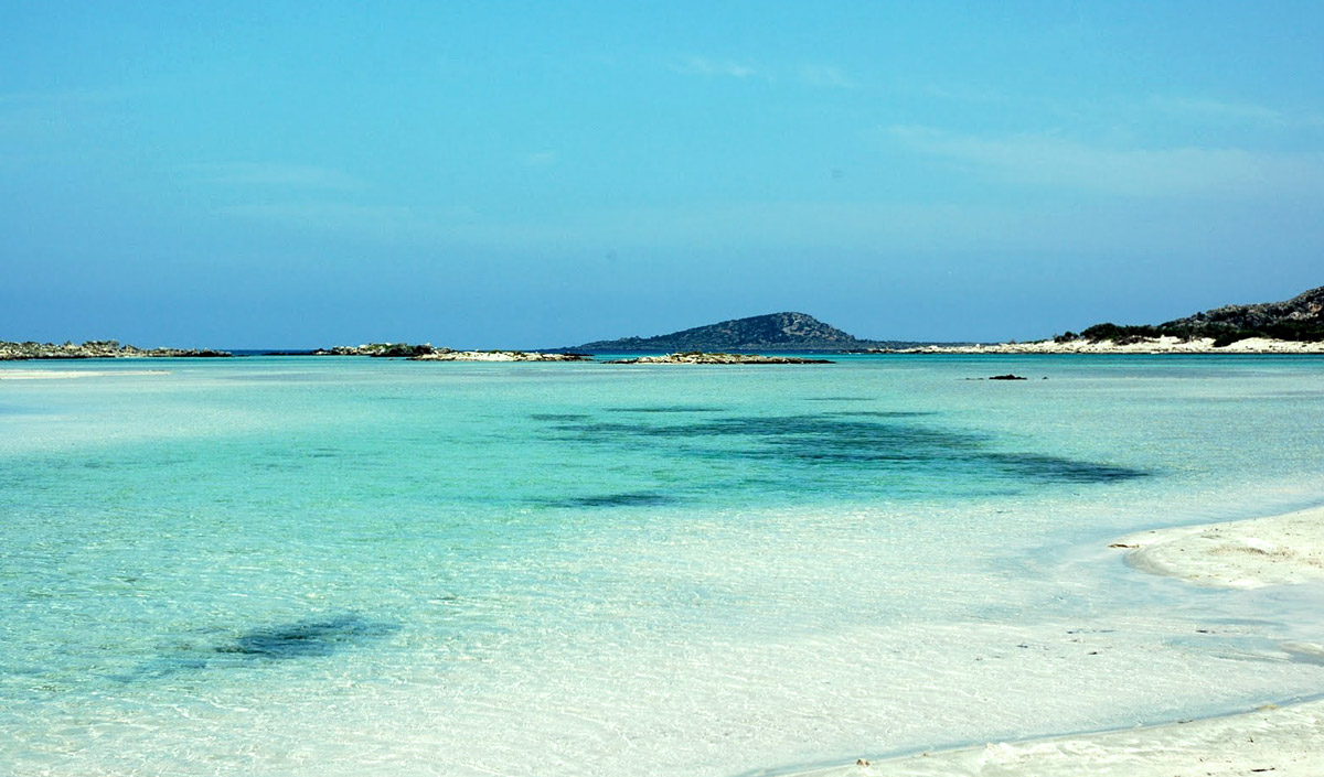 Elafonisi beach, a breathtaking site in the south of Chania
